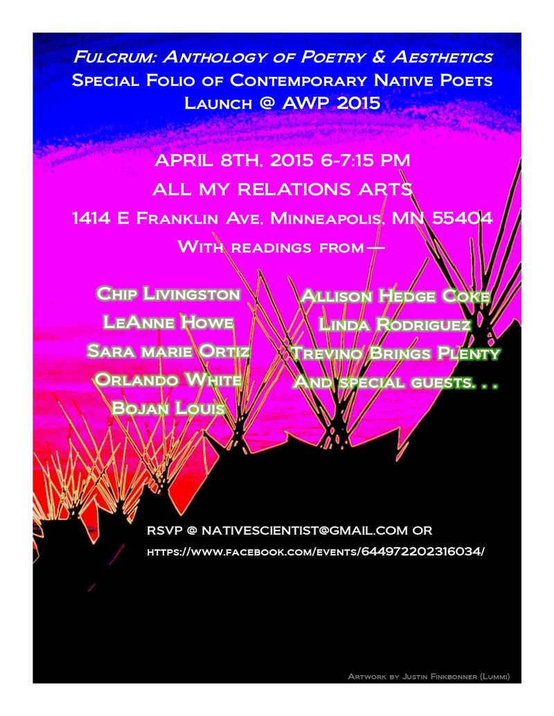 AWP 2015 Fulcrum Folio Launch Flier