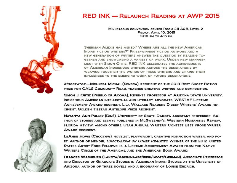AWP RED INK RELAUNCH 2015 Flier